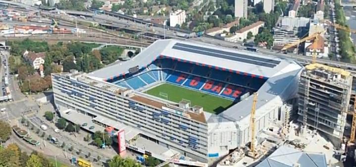 Stadio st. Jakob Basilea - svizzera