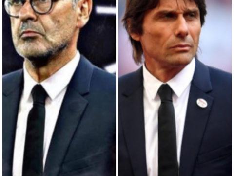 Juventus Inter - Sarri conte