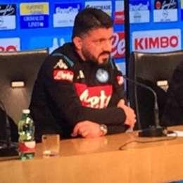 """Napoli News, Gattuso: """"contro l'Inter fuori Mertens e Koulibaly"""""""